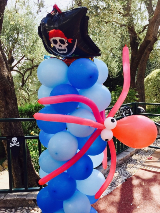 colonne ballon pirate