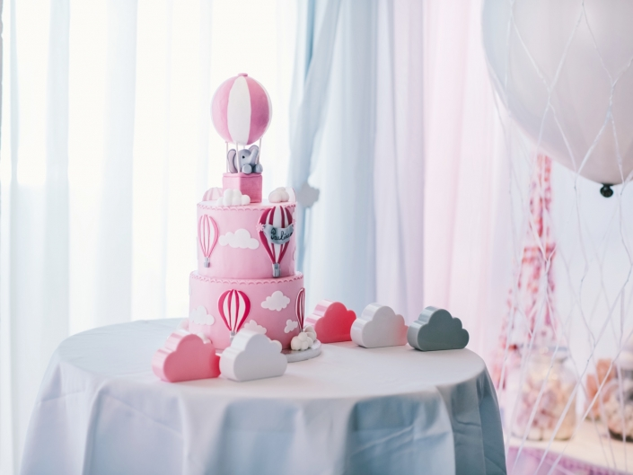 Cake Montgolfiere