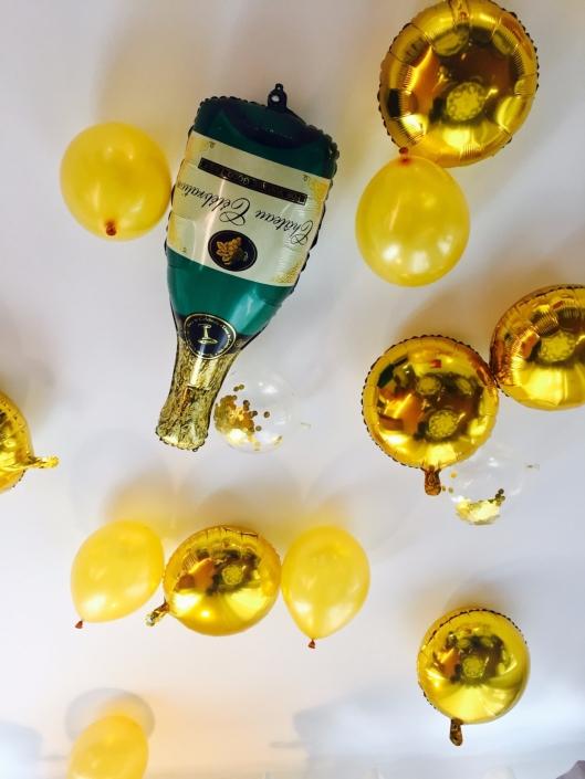 ballons champagne