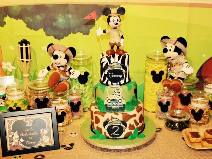 cake safari mickey