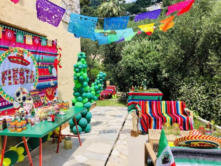 Anniversaire thème mexique