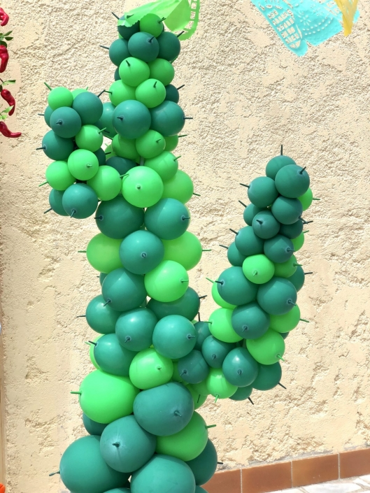 ballons cactus
