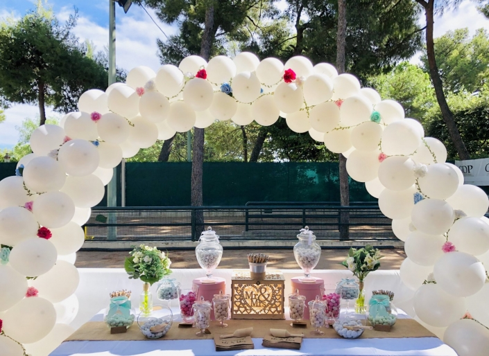 decoration ballon mariage