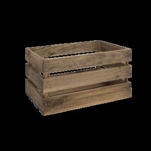 cassa di legno invecchiato