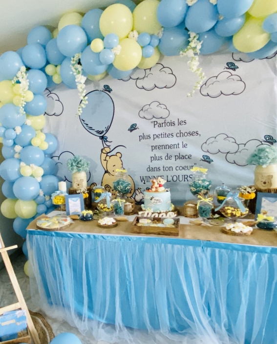 arche et candy bar babyshower