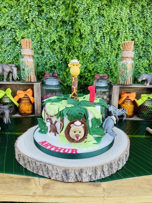 anniversaire theme jungle